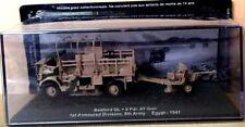 "DIE CAST TANK "" BEDFORD QL + 6 PDR. AT GUN EGYPT - 1941   SCALA 1/72"