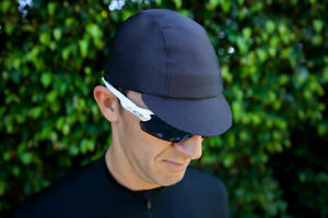 Pace Sportswear Hex-Tek Cycling Cap   UPF 50 Plus   Black   M/L