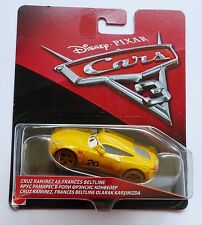 Disney Pixar Cars 3  CRUZ RAMIREZ AS FRANCES BELTLINE Over 100 Cars Listed UK !!