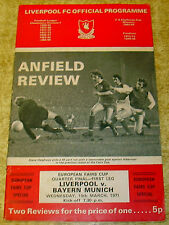 Away Teams A-B Bayern Munich Final Football Programmes