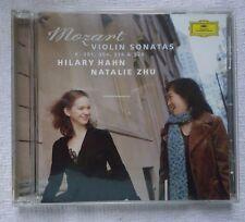 HILARY HAHN NATALIE ZHU Mozart: Violin Sonatas 301; 304; 376; & 526 CD (C1)