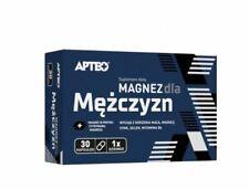 MAGNEZ DLA MĘŻCZYZN magnesium for men 30 kaps. sex libido potencja energia