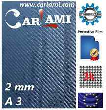 First Layer Real Carbon Fiber Fibre Sheet A3 420x297mm Thick Thickness 2mm