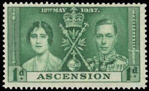 ASCENSION 37 (SG35) - King George VI Coronation (pa95238)