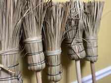 Hand Made Jamaican Broom Thatch Firm Clean Yard Leaves Fall