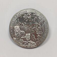 RWANDA - 50 FRANCS - 2010 - Pièce de Monnaie en Argent // QUALITE : BU - LION