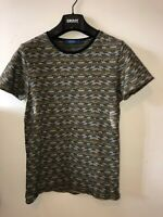 Mens Small Scotch And Soda T Shirt Tweed Style Look Amsterdam Couture Rare Weave