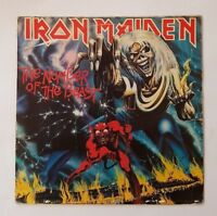 Iron Maiden - The Number Of The Beast - 14C06207608 - Greek Pressing - Vinyl LP