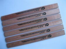J. S. Bach Carpenter Pencil - 6 pack, color: Natural Wood