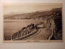ABBAZIA - LUNGOMARE - cartolina viaggiata 1939