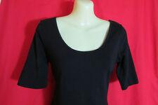 Jay Jays Design Little Black Mini Dress S/Sleeved Bodycon Wiggle Stretch Sze L