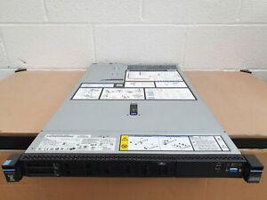 IBM x3550 M5 1U Server Xeon E5-2620 v3 6 Core 64GB RAM 2x 300GB 10K SAS M5210