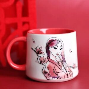 new 2021 Mulan Embossed Mug Ceramic Coffee Tea Cup Movie Exclusive Collection CX