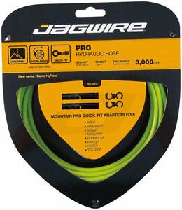 Jagwire Pro Hydraulic Disc Brake Hose Kit 3000mm, Organic Green