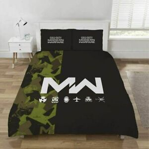 Call Of Duty Modern Warfare Double Duvet SET Bedding Set Gamers Gift NEW COD