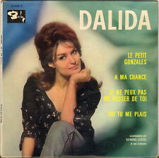 "DALIDA ""LE PETIT GONZALES"" 60'S EP BARCLAY 70 446"