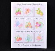 New/Old Stock Hallmark Thank You Cards. 8 Cards & 8 Envelopes. Garden