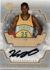NBA Card 2007-08 SPx Endorsements Rookie Kevin Durant