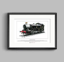 Pannier Tank 0-6-0 No.1501 Limited Edition Fine Art Print A3