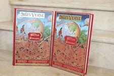 Jules Verne / Hector Servadac en 2 tomes  (michel de l'ormeraie, 1977