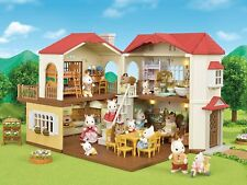Sylvanian Families LARGE HOUSE WITH RED ROOF  HA-48 From Japan