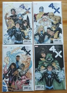 X-Men Fantastic Four 1-4 Complete Comic Lot Run Set Zdarsky Marvel Collection