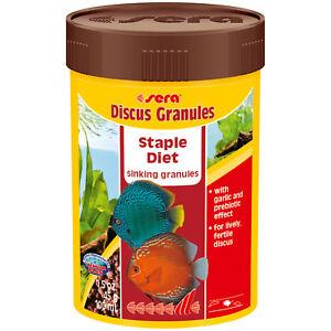 Discus Fish Food Sera Discus Granules 100 ml 1.5 oz Granules for all Discus Fish