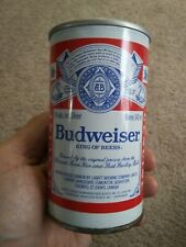 Budweiser Beer can collectable Very nice push button open from Canada