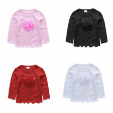 Cotton Baby Girls' Tops and T-Shirts
