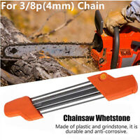 2 IN 1 Chainsaw Teeth Quick Sharpener File For STIHL 3/8p 4mm Chain Sharpening