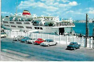 Ferry at Tangier