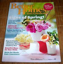 Better Homes and Gardens Magazine May 2011 Spring Summer Garden