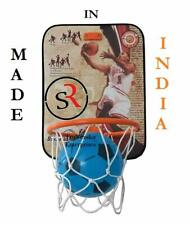Basket Ball kit for Kids Playing Indoor Outdoor Basket Ball Hanging Board with B