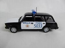 Vaz 2107 policía azul en blíster 1:43 Altaya