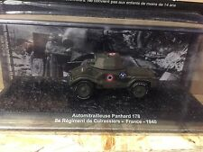"DIE CAST TANK "" AUTOMITRAILLEUSE PANHARD 178 FRANCE - 1940 "" BLINDATI  1/72"
