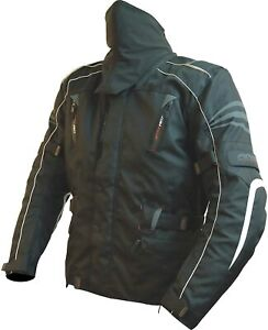NEW ARMR HIRAMA WATERPROOF / ARMOURED 3 IN 1 TEXTILE JACKET SIZE LARGE RRP £159