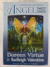 Angel Tarot Deck Complete 78 Cards Set Doreen Virtue Oracle Angels New Healing
