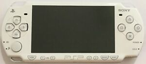 FOR PARTS ONLY - Sony PSP 2000 White PlayStation Portable Console - Sold AS-IS