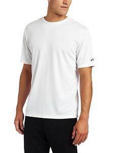 ASICS Ready Set Short Sleeve top running shirt Size Men's 2XS = Boy's Large