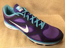 a5b94ce431f15 NIKE DUAL FUSION TR Womens US 11 Purple Training Athletic Shoes 443837 504