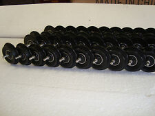 10 Pairs, 20 Axles G Scale BALL BEARING Roll-EZ BLACK Metal Wheels Fits LGB