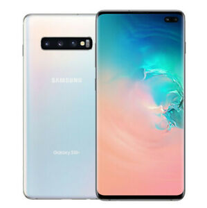 Samsung Galaxy S10+ Plus | Grade A | Unlocked | Prism White | 128 GB | 6.4 in