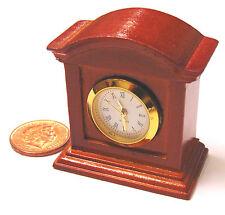 Escala 1:12 De Trabajo Con Pilas Reloj De Madera Casa De Muñecas Miniatura Accesorios