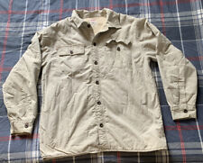 Men's Levi Strauss Button Up Fleece Jacket Size Large