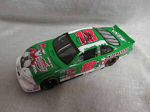 Bobby Labonte Signed 2001 #18 Interstate Batteries Coca Cola Polar Bear Car