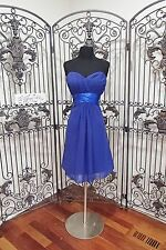 S464 VENUS BM1696 COBALT SZ 14 $178 COCKTAIL  PROM FORMAL PAGEANT DRESS GOWN
