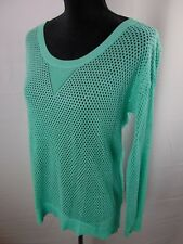 American Eagle Outfitters Women's Med Long Sleeve Casual Knit Shirt Top Blouse