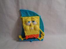 2012 McDonald's SpongeBob SquarePants Wind Surfer Sail Figure As Is