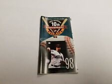 Scranton/Wilkes-Barre Red Barons 1998 Minor Baseball Pocket Schedule - PNC Bank