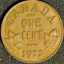 Canada 1922 Penny - Buyers Grade -